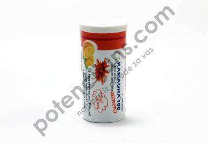 Kamagra 100 mg šumeće tablete